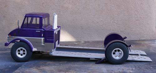 Front Wheel Drive Hauler : Unimog car hauler rc talk the net s largest vintage r